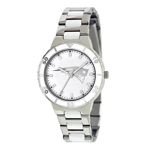 New England Patriots NFL Ladies Pro Pearl Series Watch