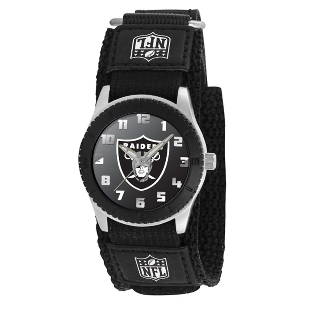 Oakland Raiders NFL Kids Rookie Series watch (Black)