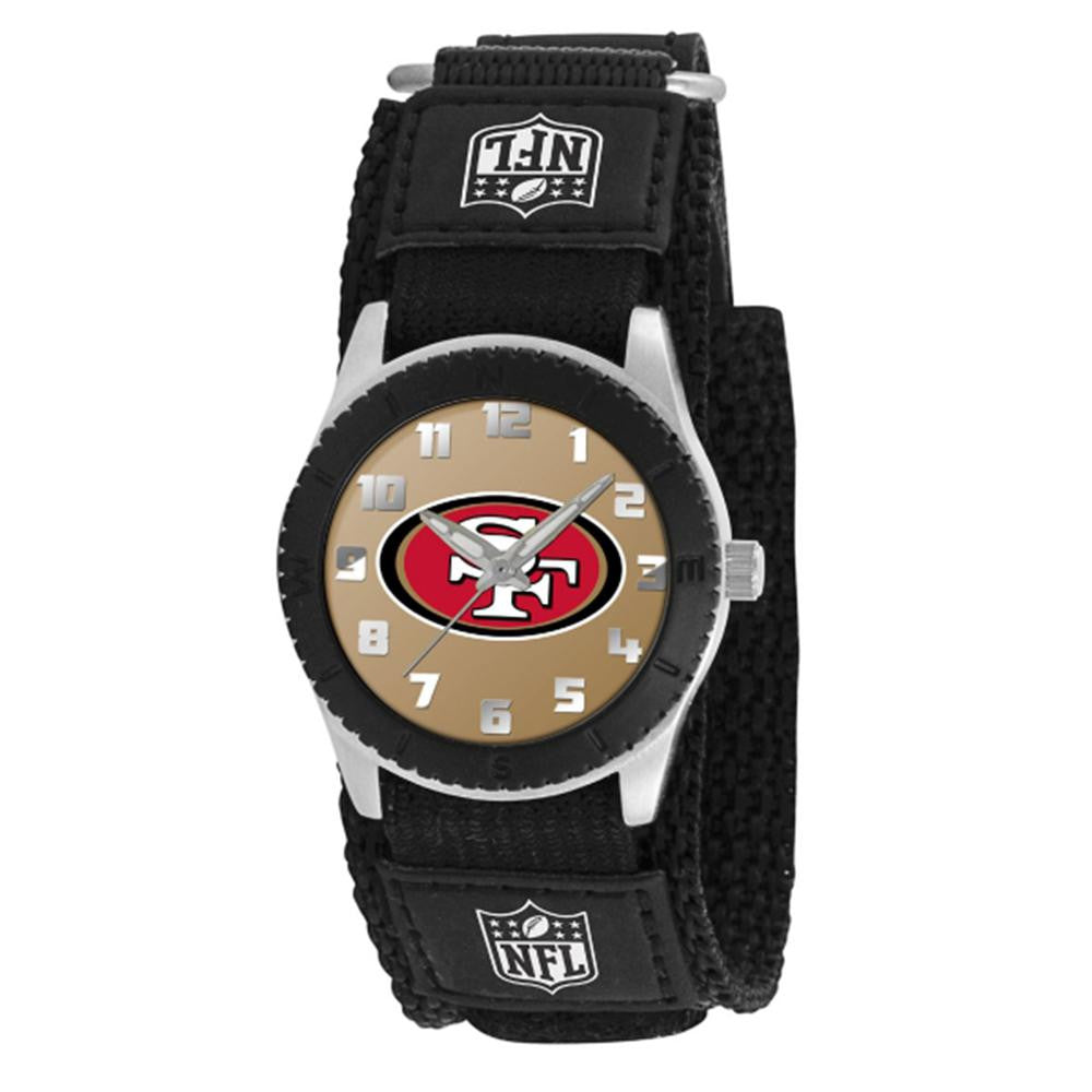 San Francisco 49ers NFL Kids Rookie Series watch (Black)