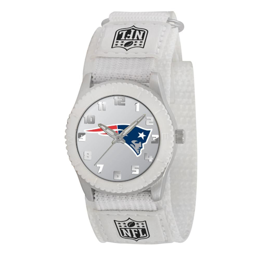 New England Patriots NFL Kids Rookie Series Watch (White)