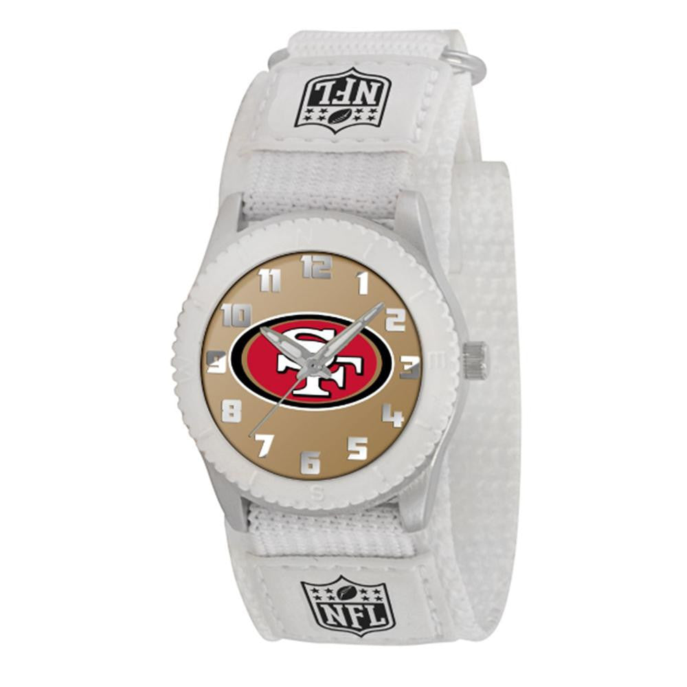 San Francisco 49ers NFL Kids Rookie Series Watch (White)