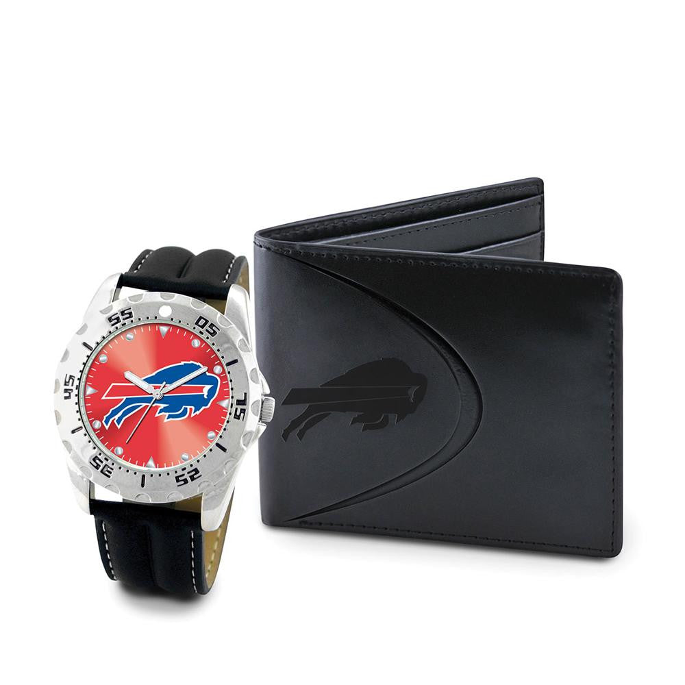 Buffalo Bills NFL Men's Watch & Wallet Set