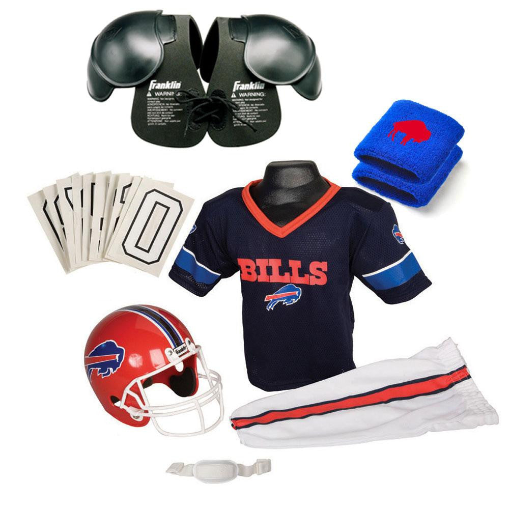 Buffalo Bills Youth NFL Ultimate Helmet and Uniform Set (Small)