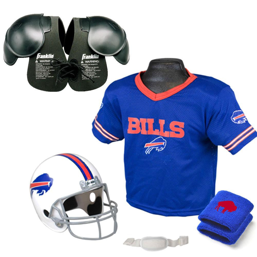 Buffalo Bills Youth NFL Ultimate Helmet and Jersey Set