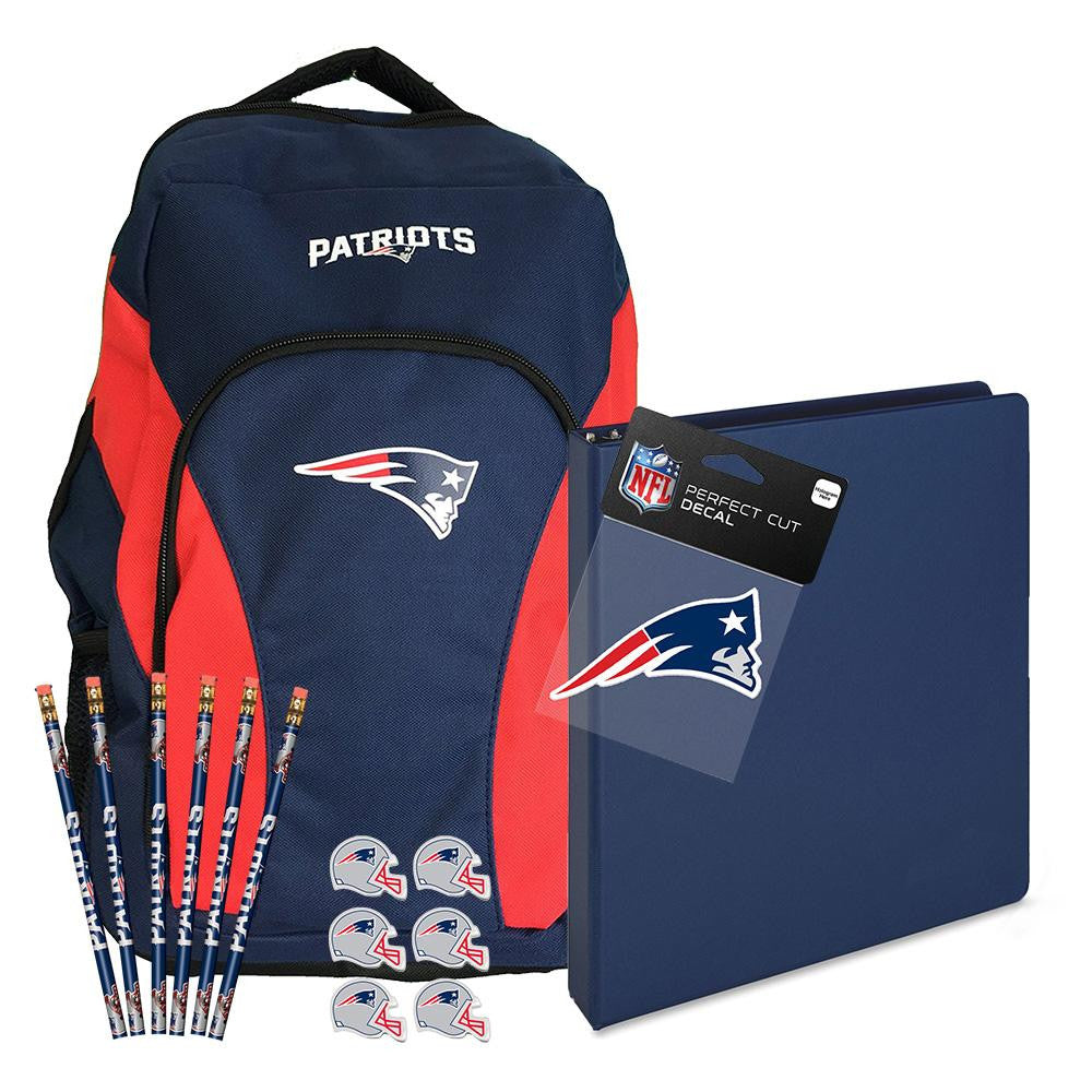 New England Patriots NFL Back to School Essentials