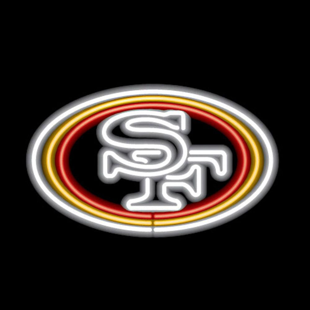 San Francisco 49ers NFL 23 Inch Team Neon Sign