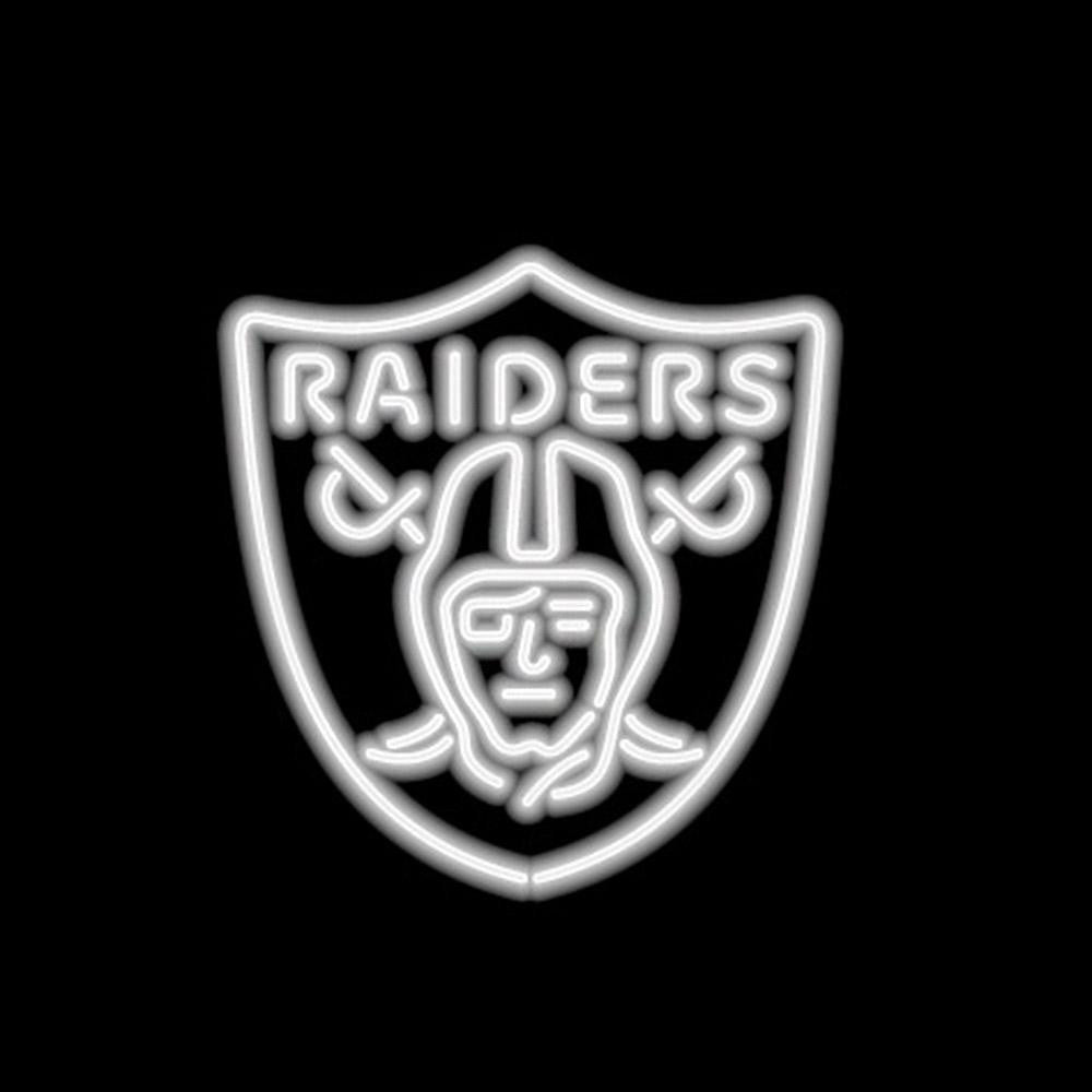 Oakland Raiders NFL 23 Inch Team Neon Sign