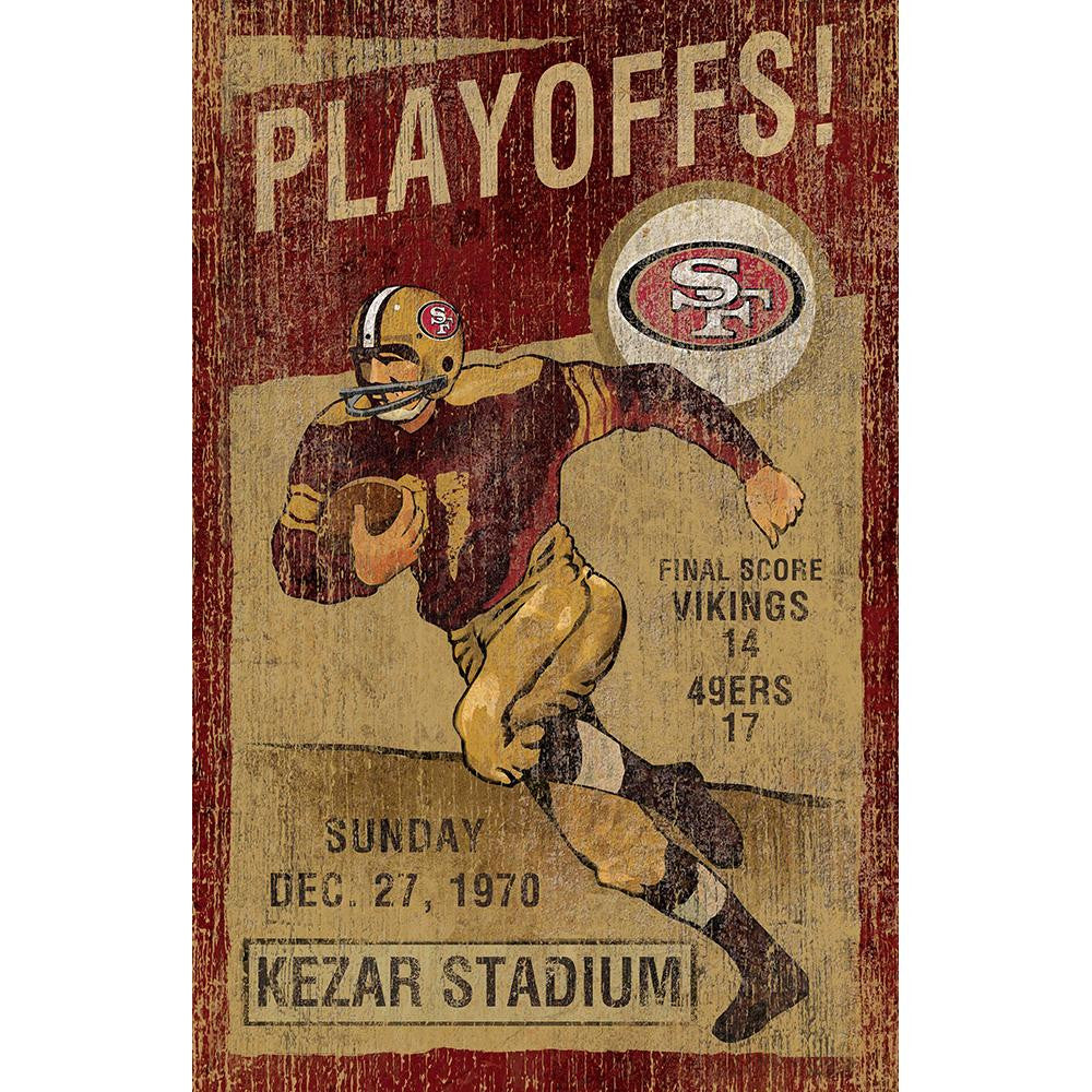 San Francisco 49ers NFL Vintage Wall Art