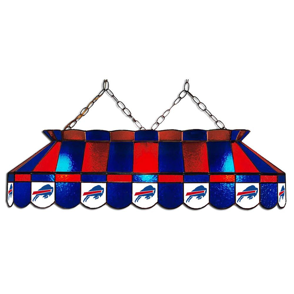 Buffalo Bills NFL 40 Inch Billiards Stained Glass Lamp