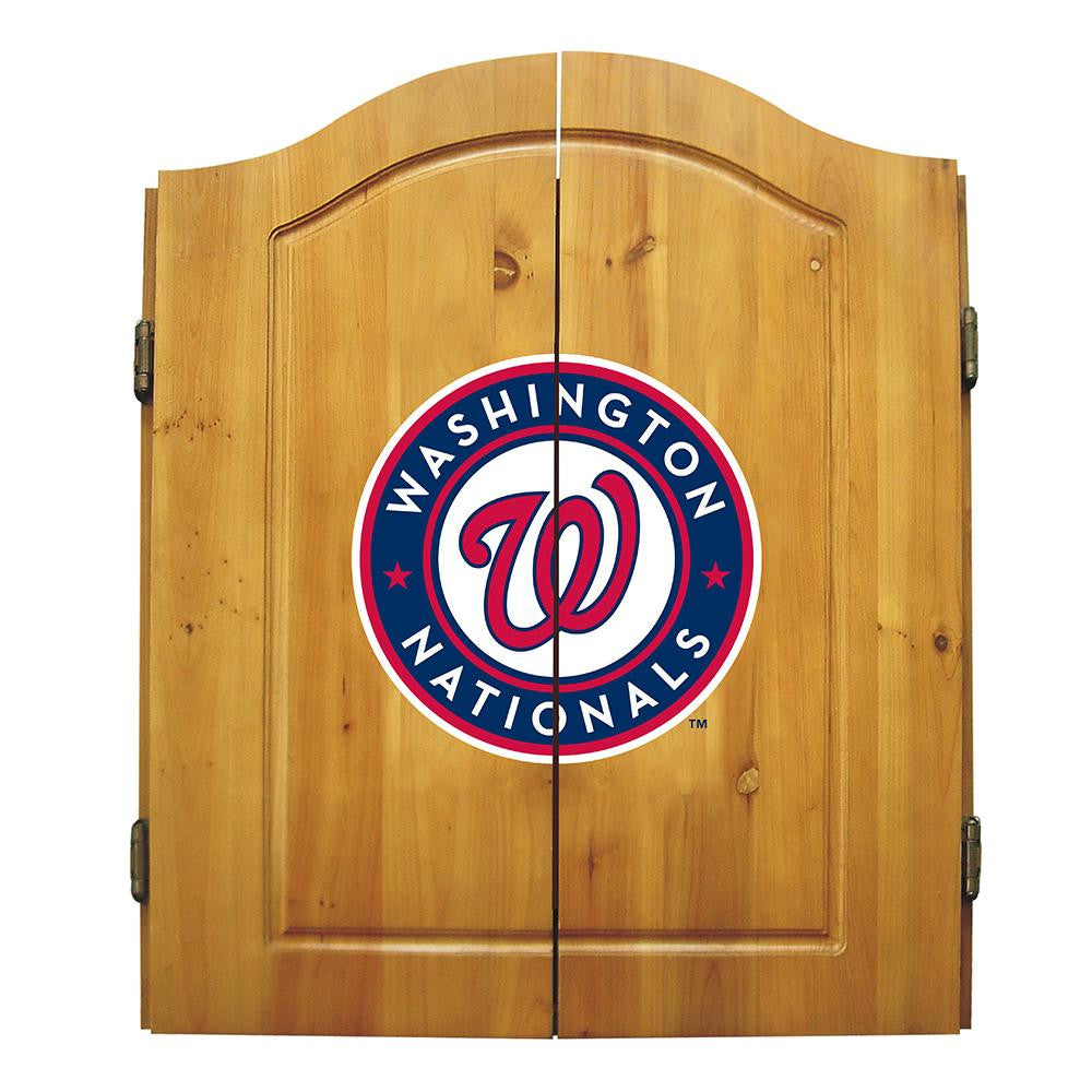 Washington Nationals MLB Dart Board w/Cabinet
