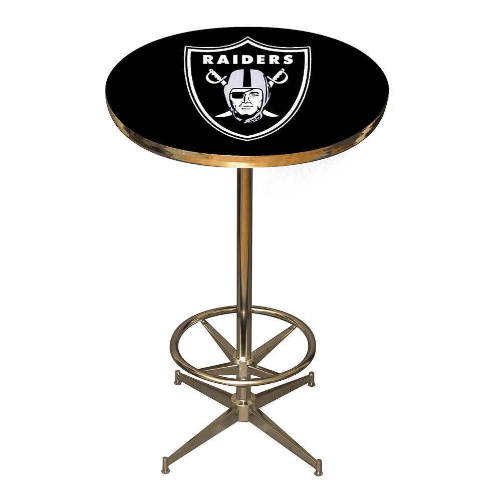 Oakland Raiders NFL Pub Table