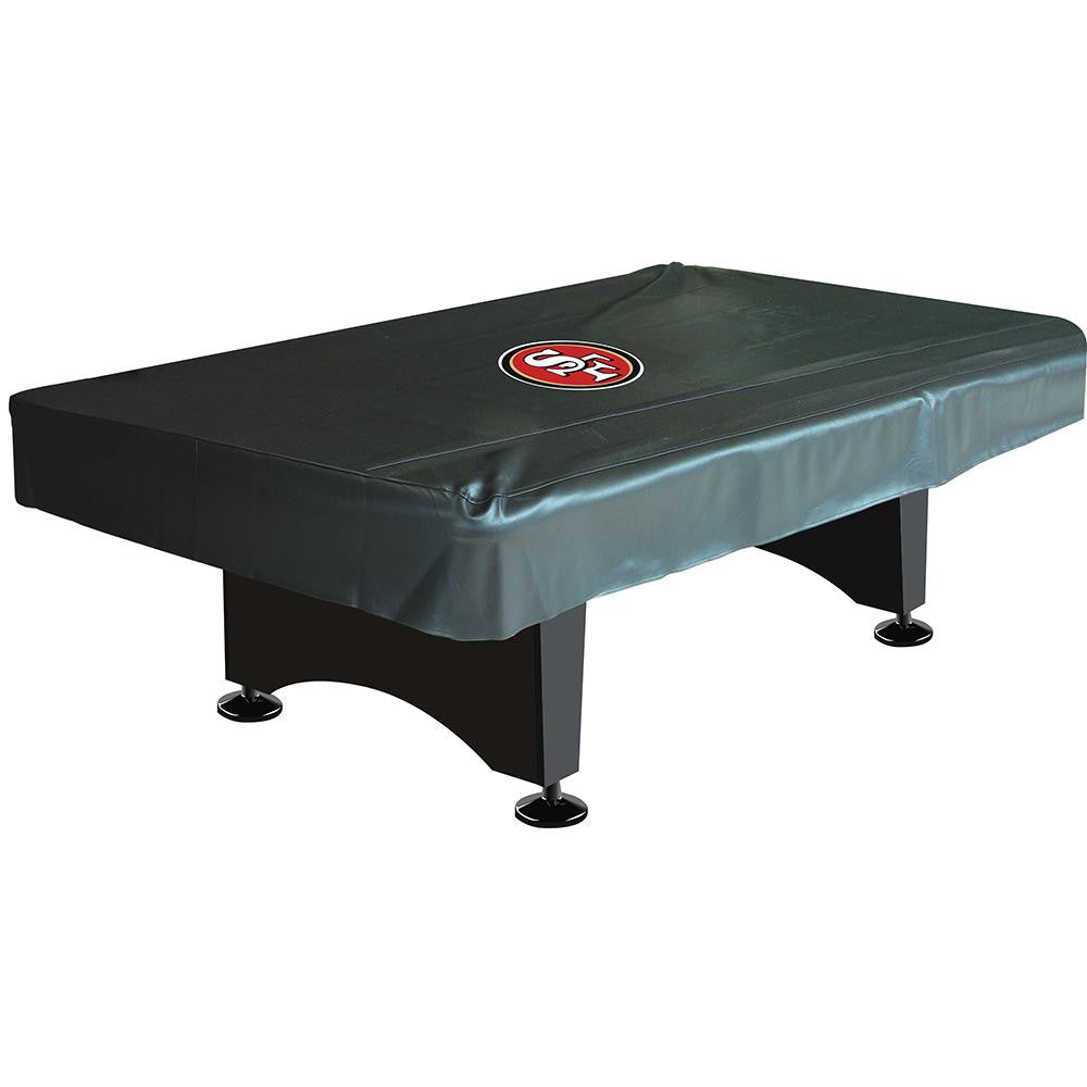 San Francisco 49ers NFL 8 Foot Pool Table Cover