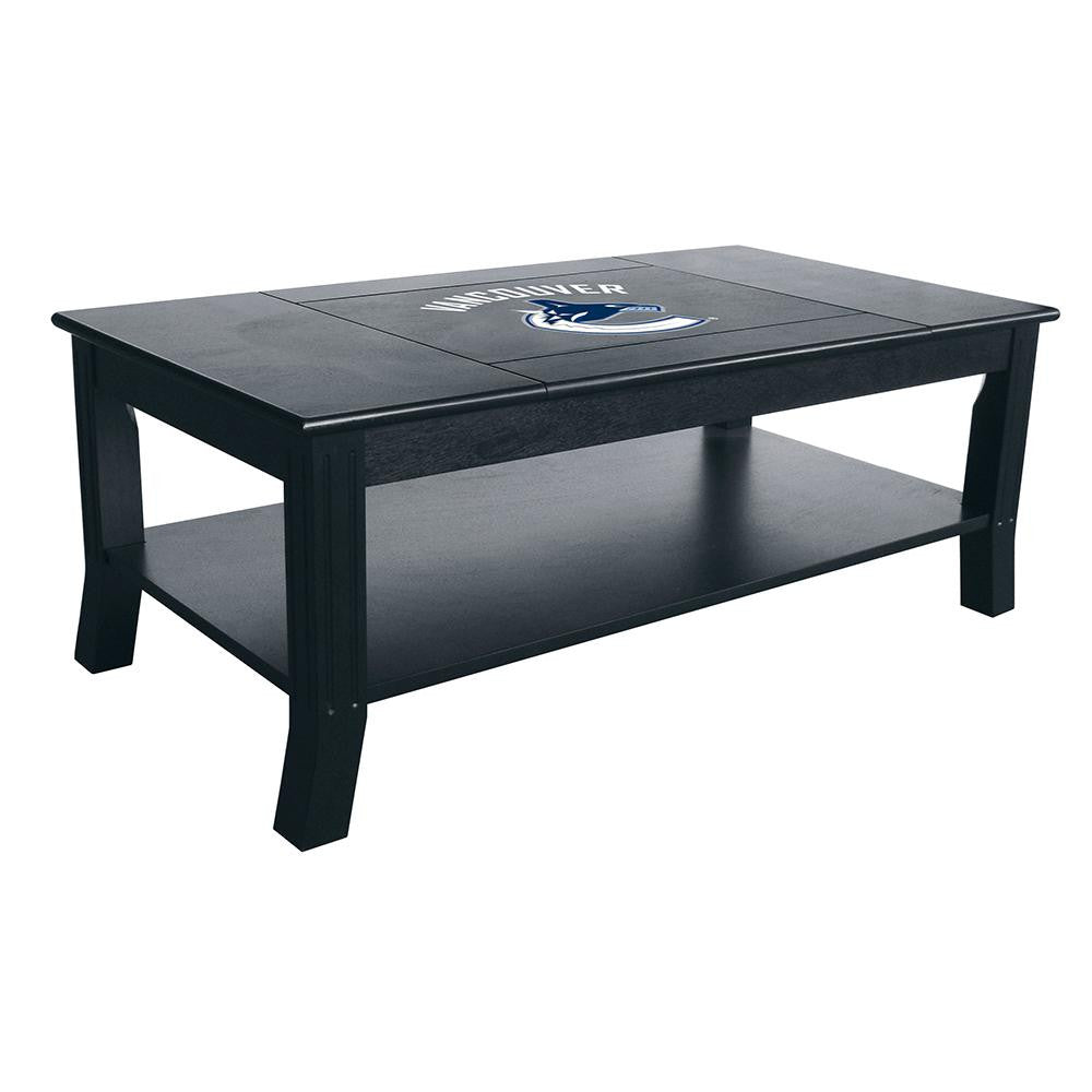Vancouver Canucks NHL Coffee Table