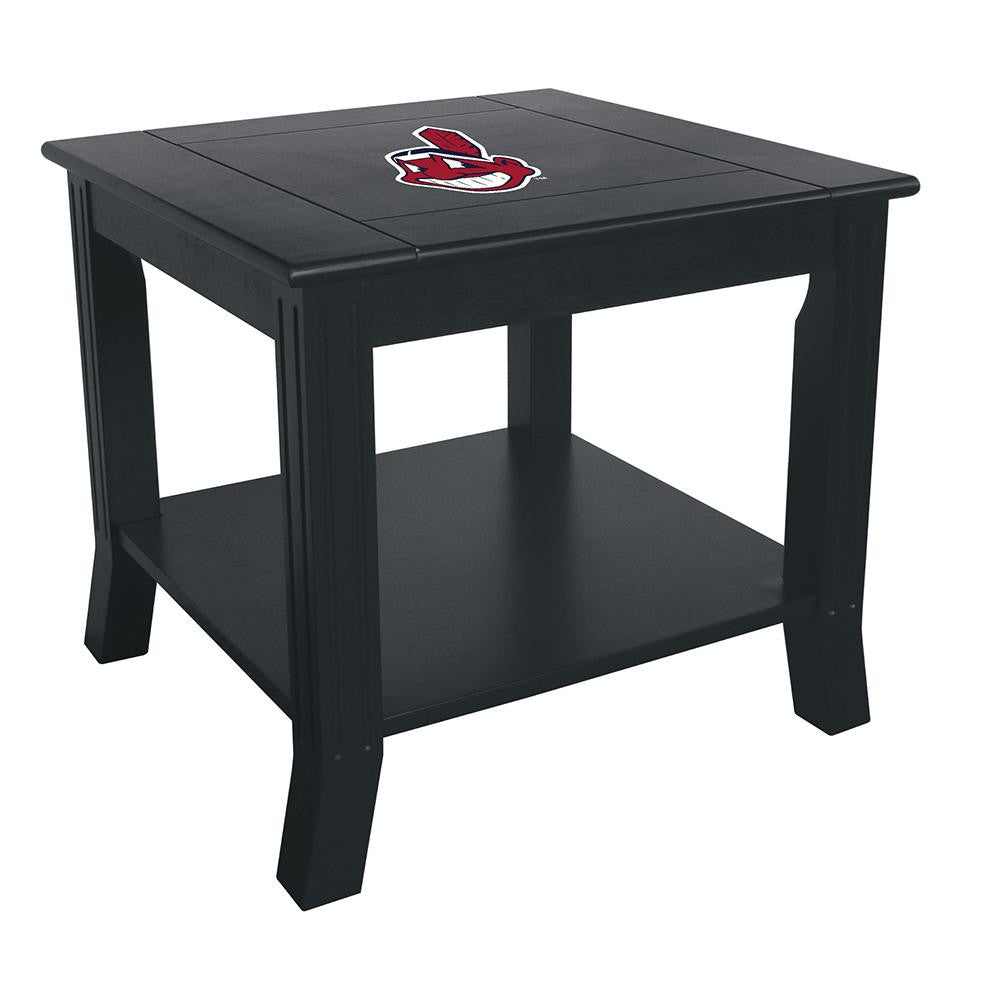Cleveland Indians MLB Side Table
