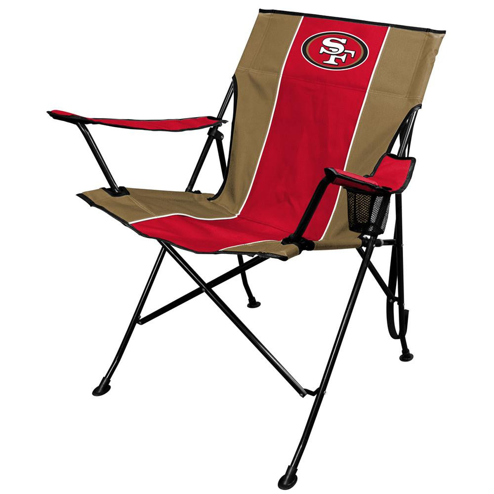 San Francisco 49ers NFL Tailgate Chair and Carry Bag