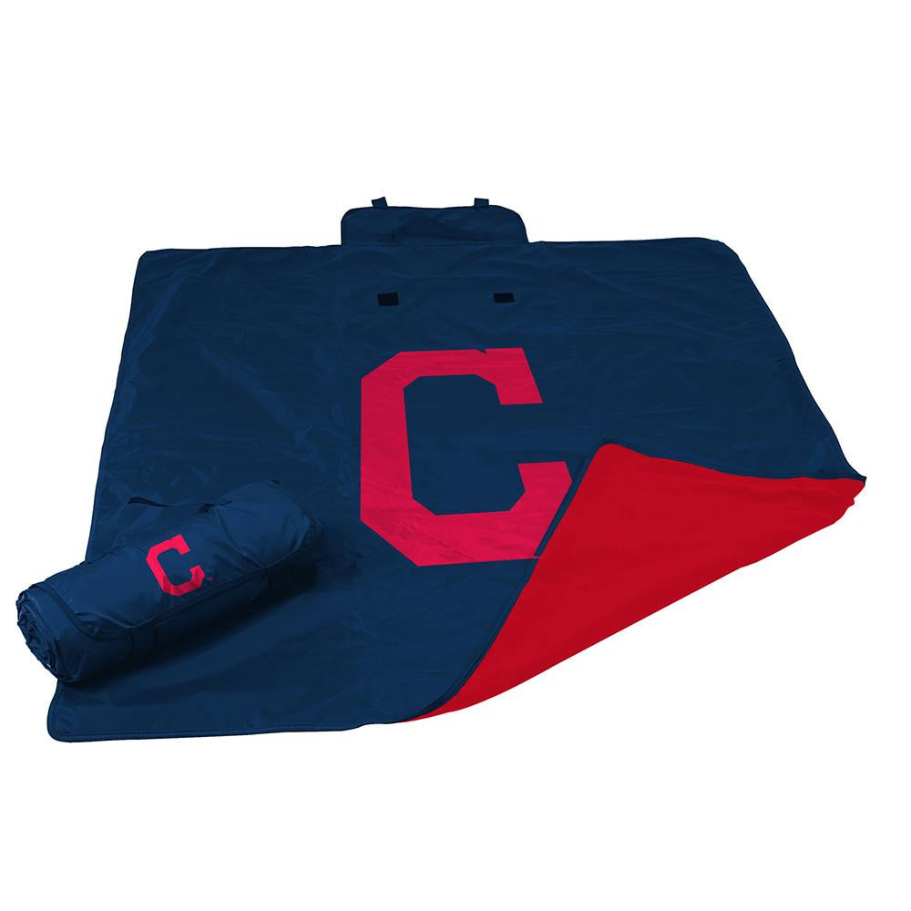 Cleveland Indians MLB All Weather Blanket xyz