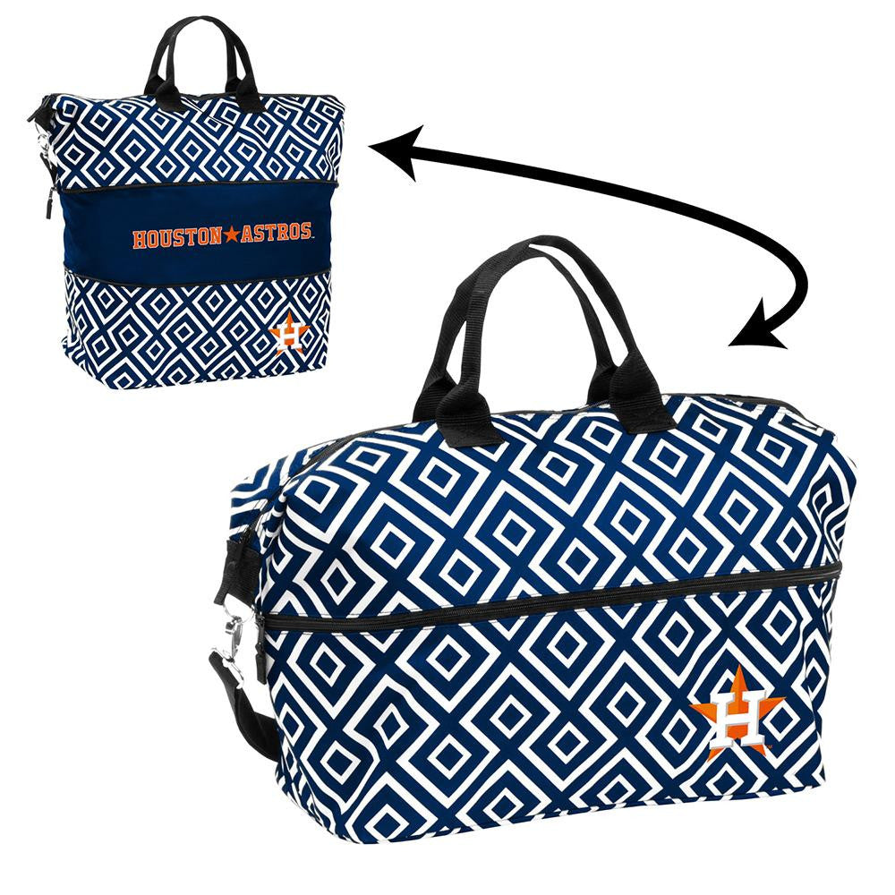 Houston Astros MLB Expandable Tote Bag
