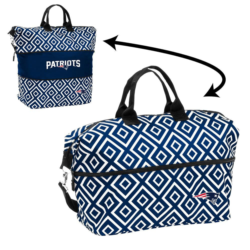 New England Patriots NFL Expandable Tote Bag