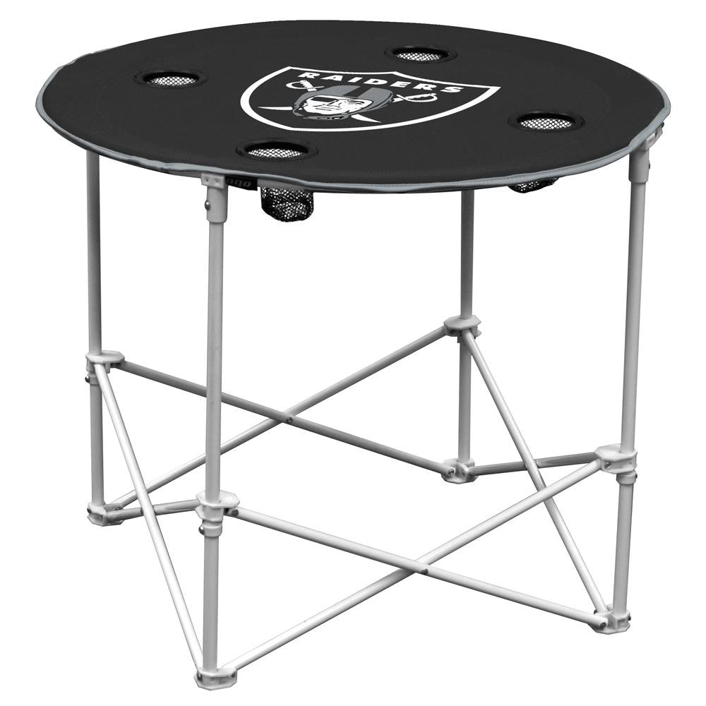 Oakland Raiders NFL Portable Round Table