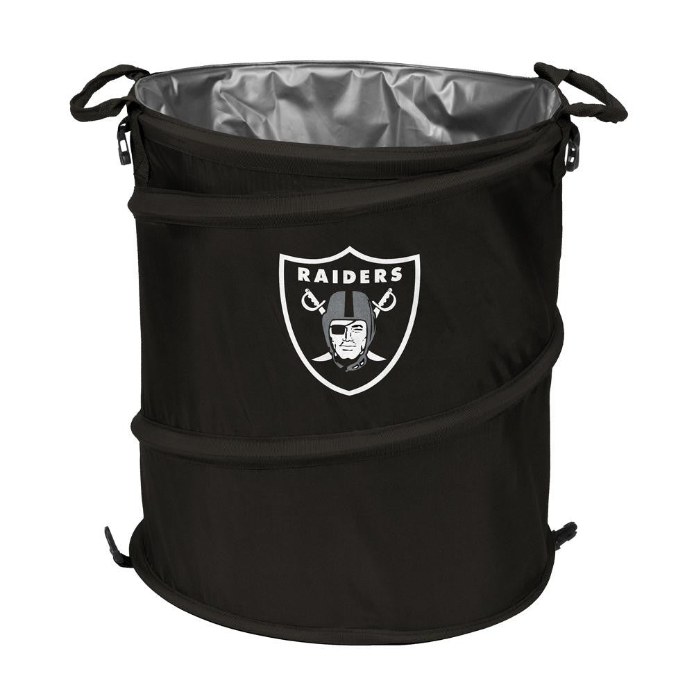 Oakland Raiders NFL Collapsible Trash Can Cooler