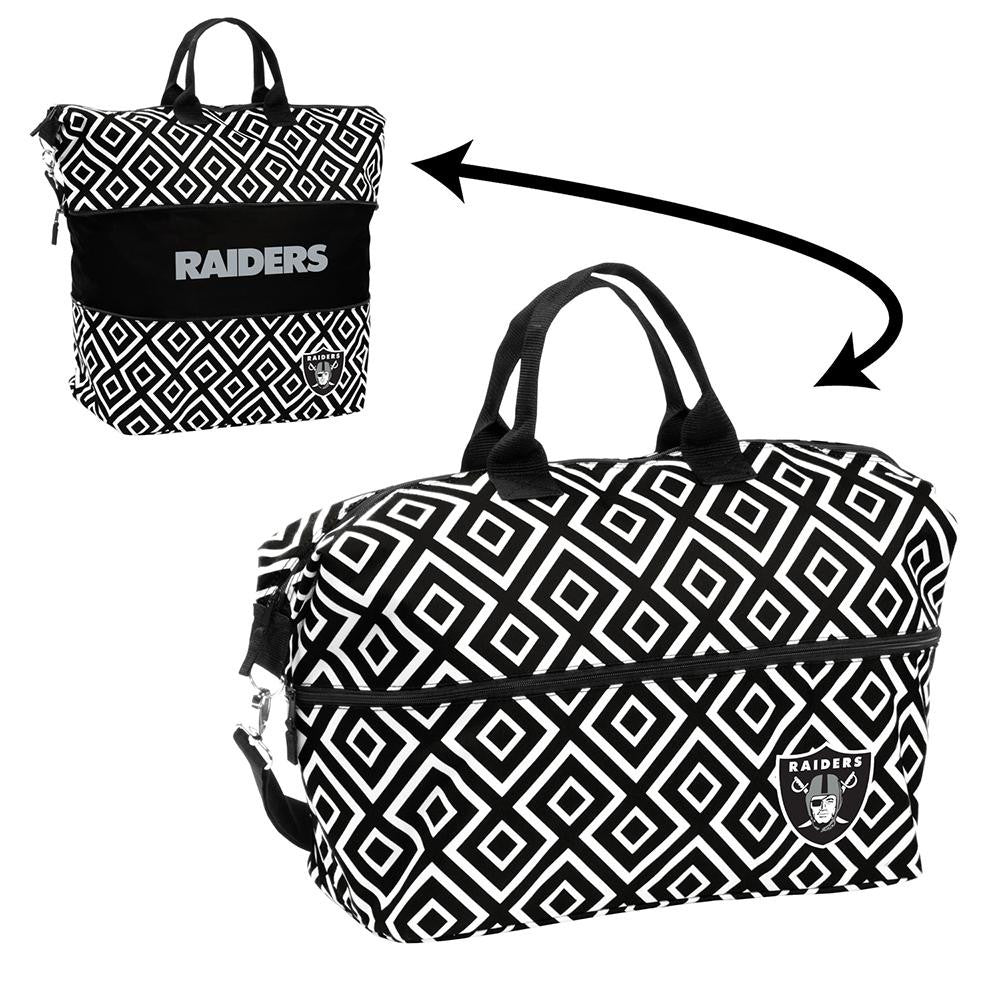 Oakland Raiders NFL Expandable Tote Bag