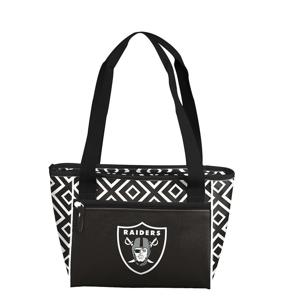 Oakland Raiders NFL 16 Can Cooler Tote