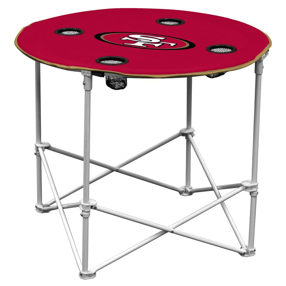 San Francisco 49ers NFL Portable Round Table