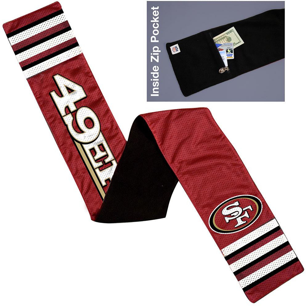 San Francisco 49ers NFL Jersey Scarf