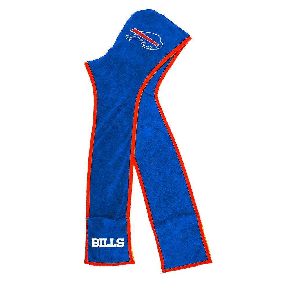 Buffalo Bills NFL Ultra Fleece Hoodie Scarf
