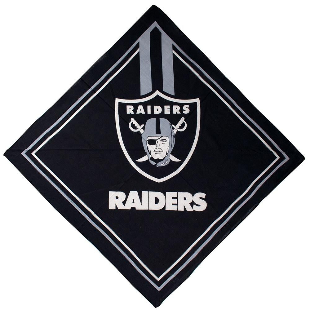 Oakland Raiders NFL Full Color Fandana