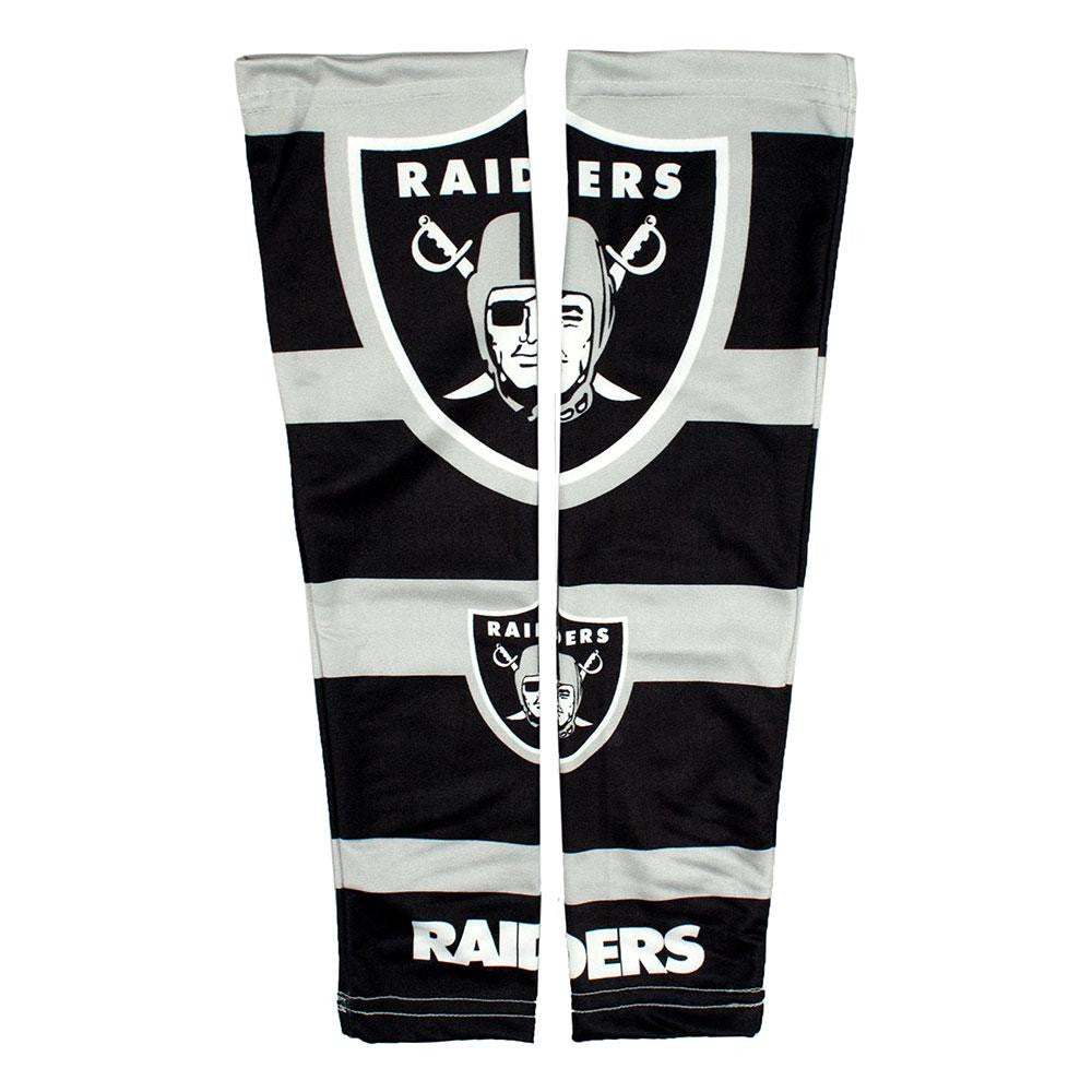 Oakland Raiders NFL Poly-Spandex Strong Arm