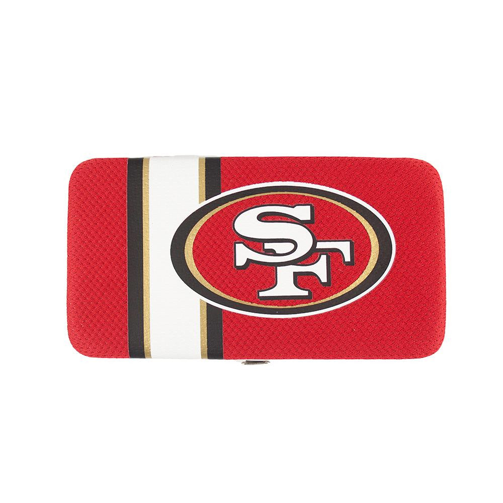 San Francisco 49ers NFL Shell Mesh Wallet