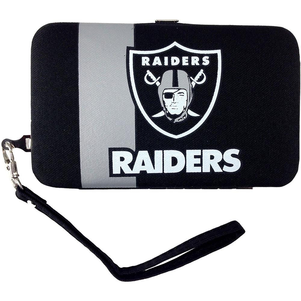 Oakland Raiders NFL Shell Wristlet