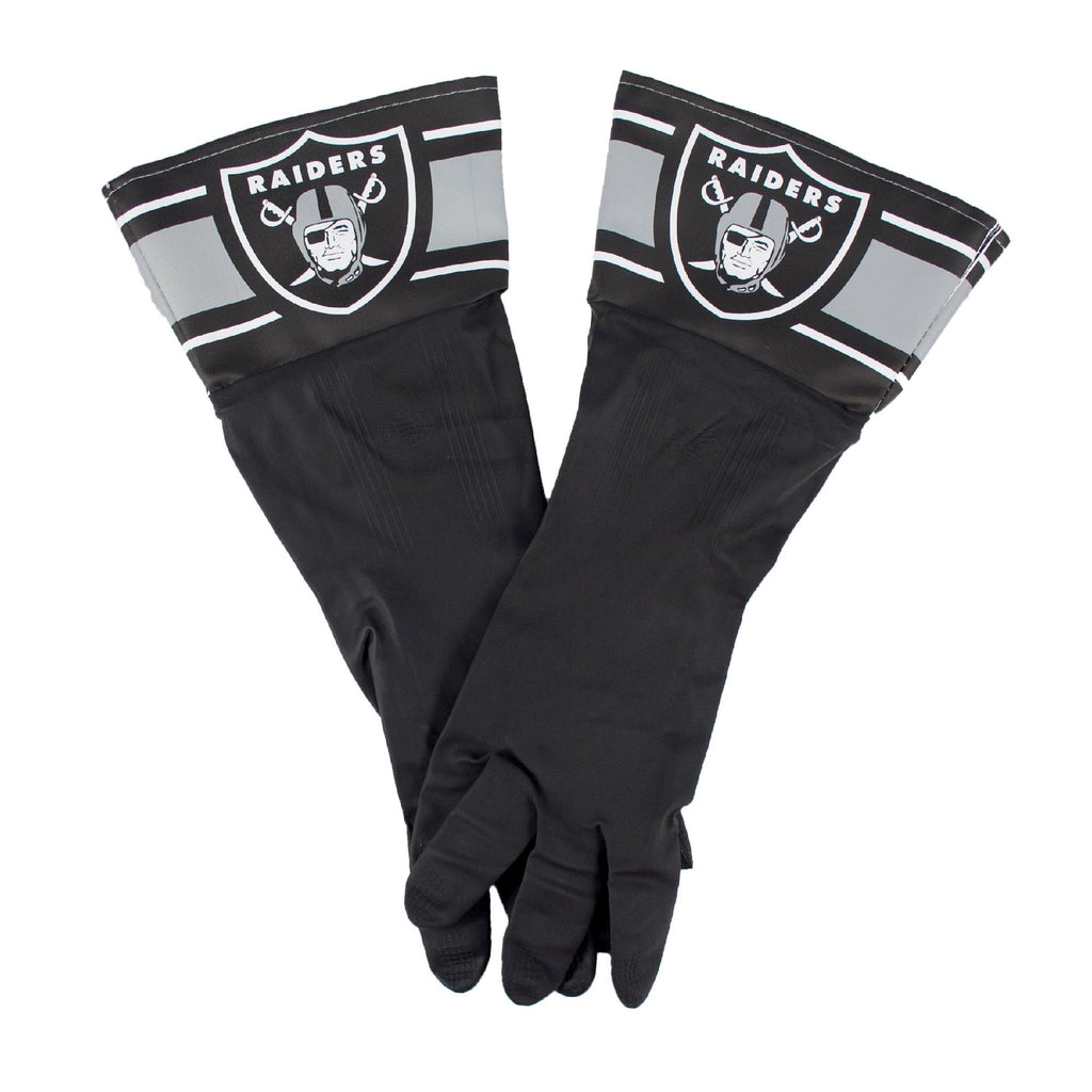 Oakland Raiders NFL Dish Gloves
