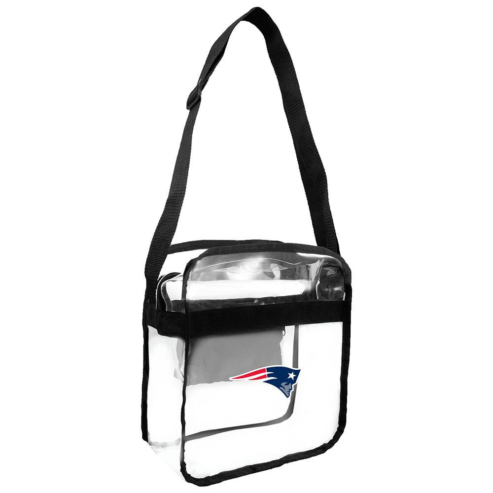 New England Patriots NFL Clear Cross-Body Carry-All