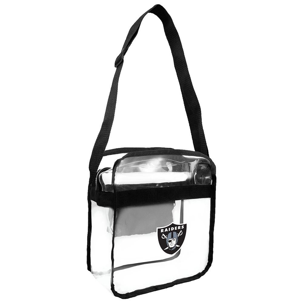 Oakland Raiders NFL Clear Cross-Body Carry-All