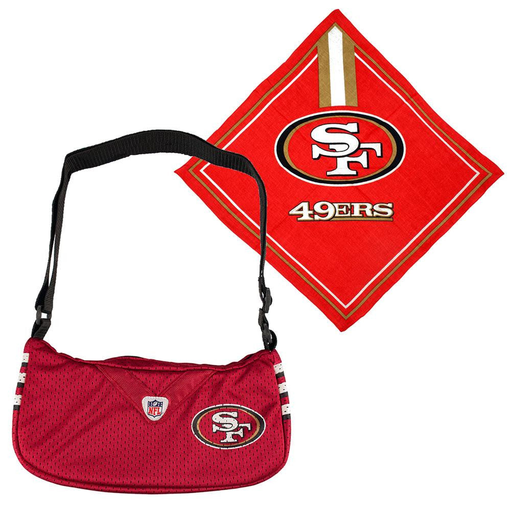 San Francisco 49ers NFL Fandana and Jersey Purse Set