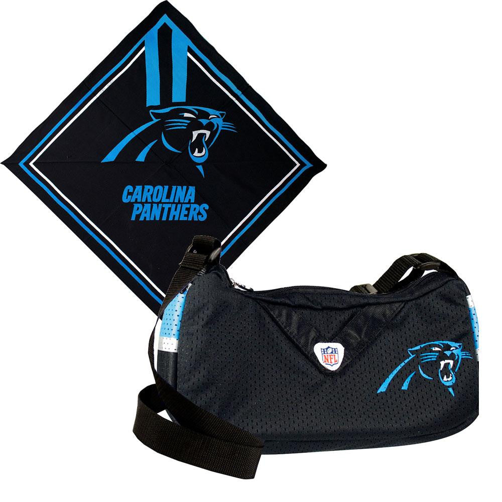 Carolina Panthers NFL Fandana and Jersey Purse Set