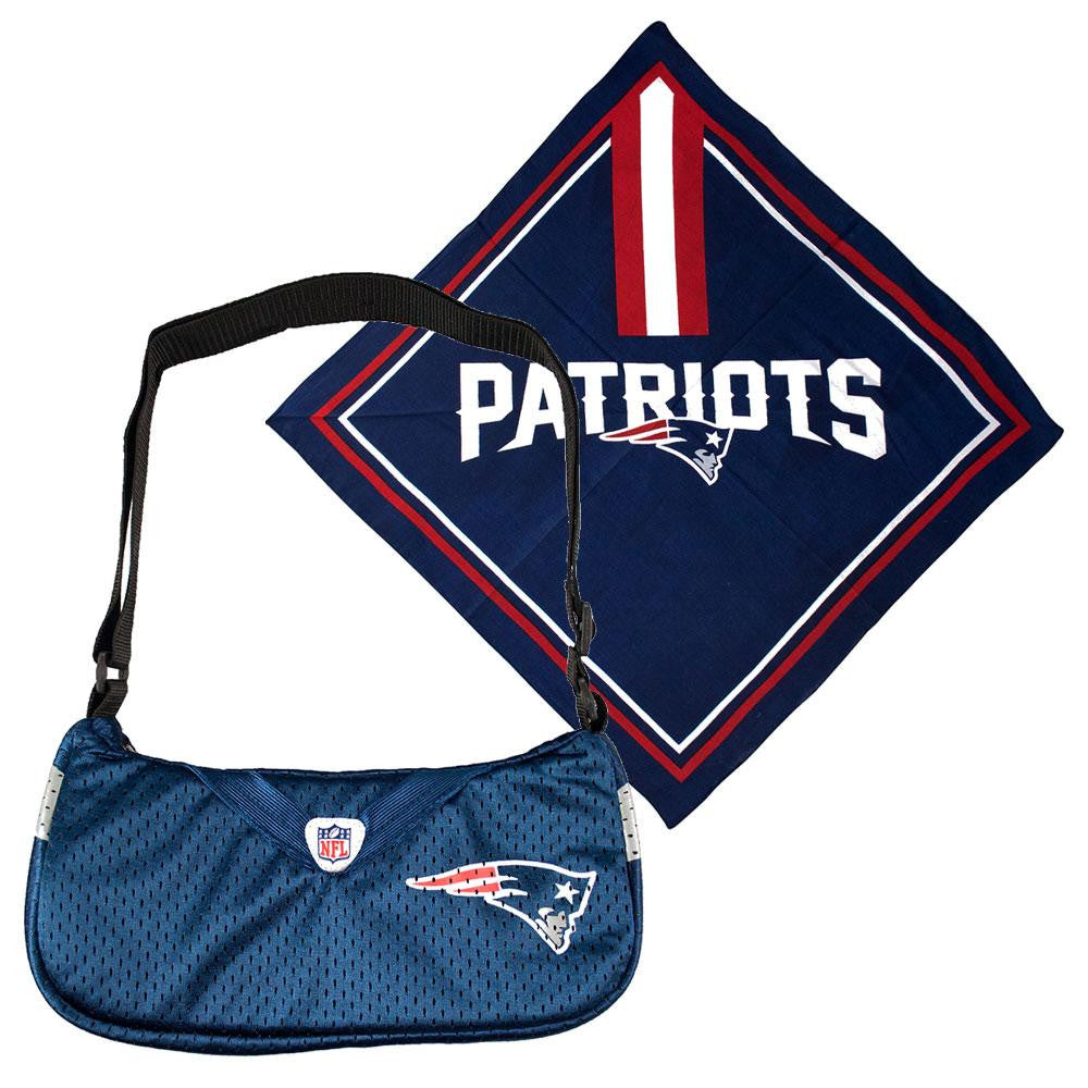 New England Patriots NFL Fandana and Jersey Purse Set