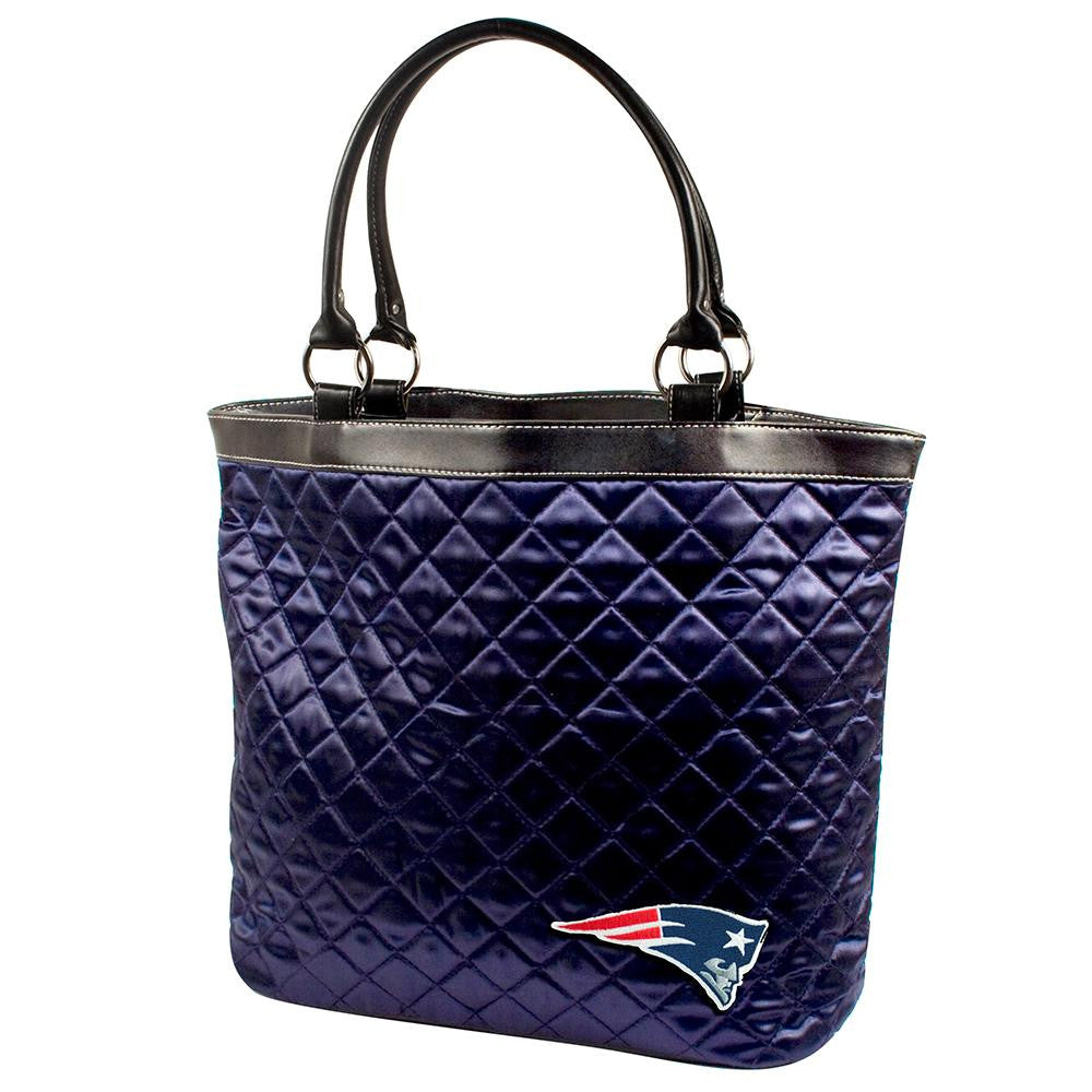 New England Patriots NFL Quilted Tote (Navy)