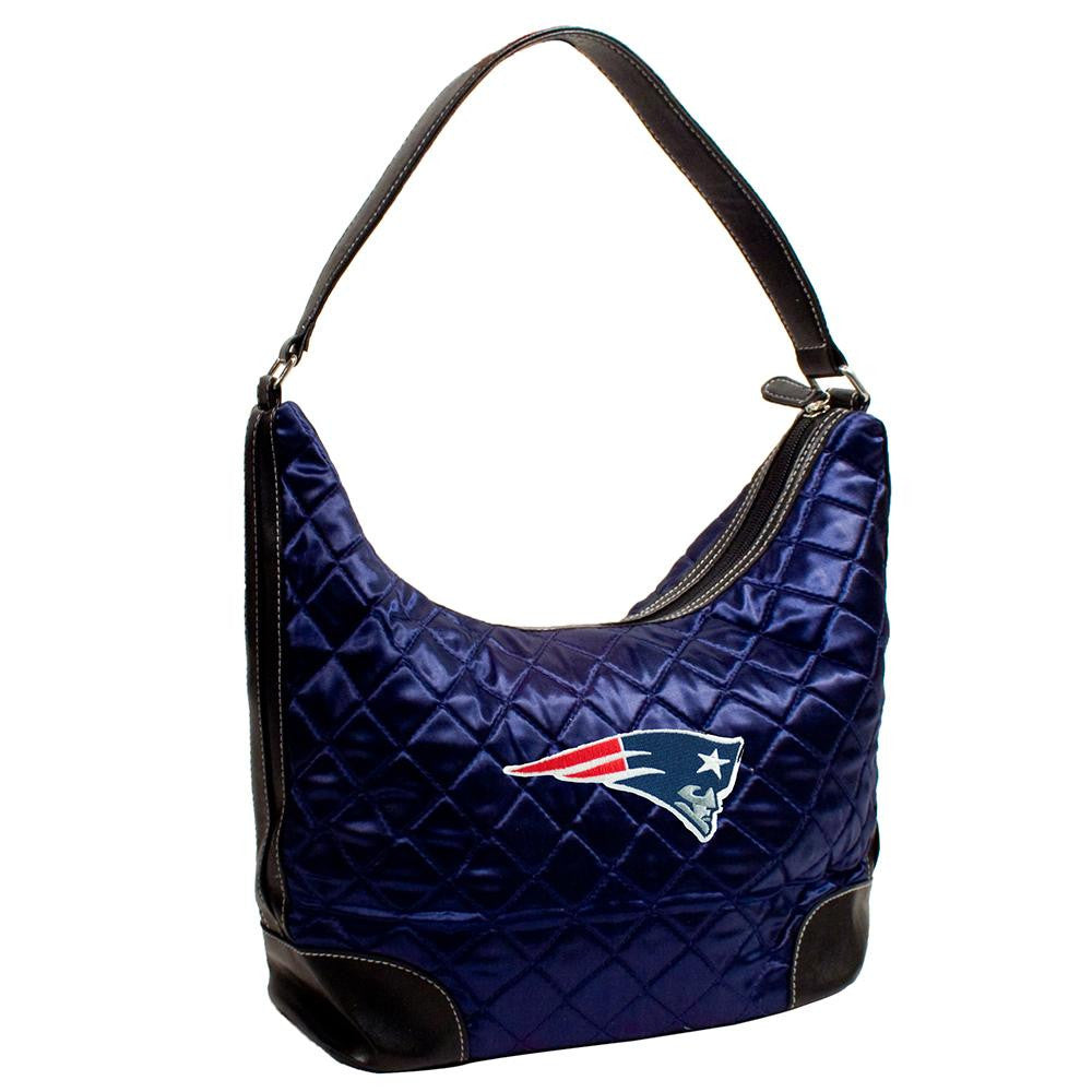 New England Patriots NFL Quilted Hobo (Navy)