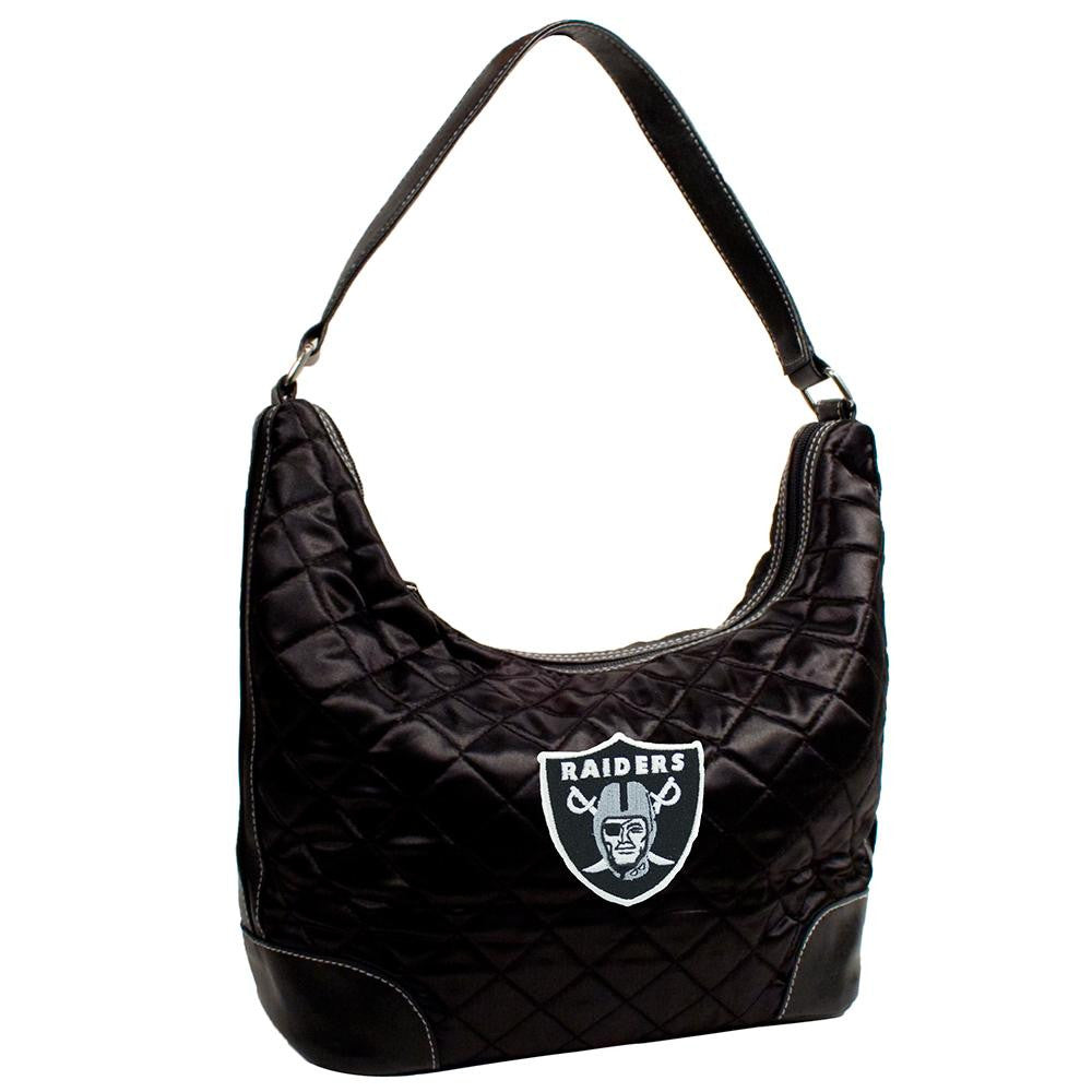 Oakland Raiders NFL Quilted Hobo (Black)