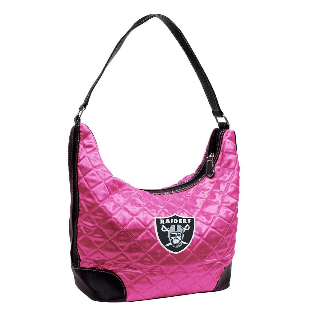 Oakland Raiders NFL Quilted Hobo
