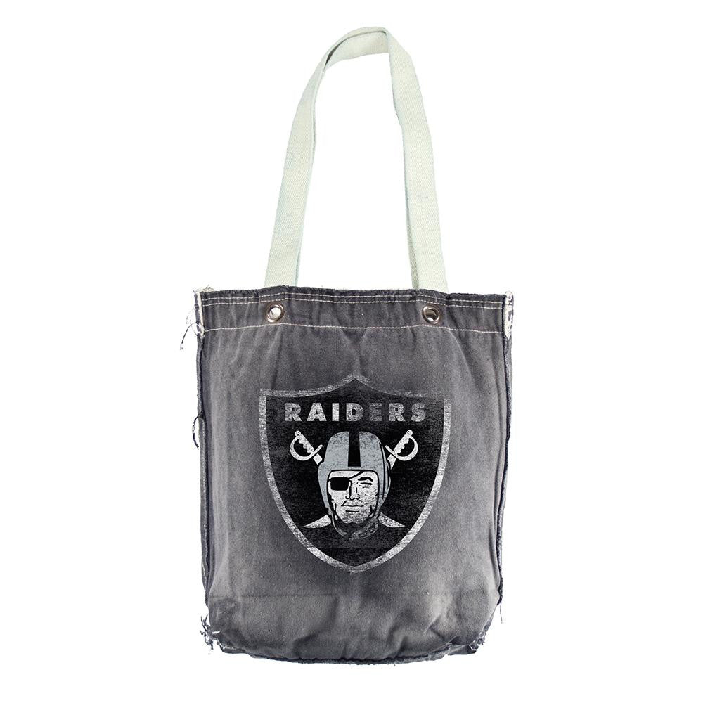 Oakland Raiders NFL Vintage Denim Shopper