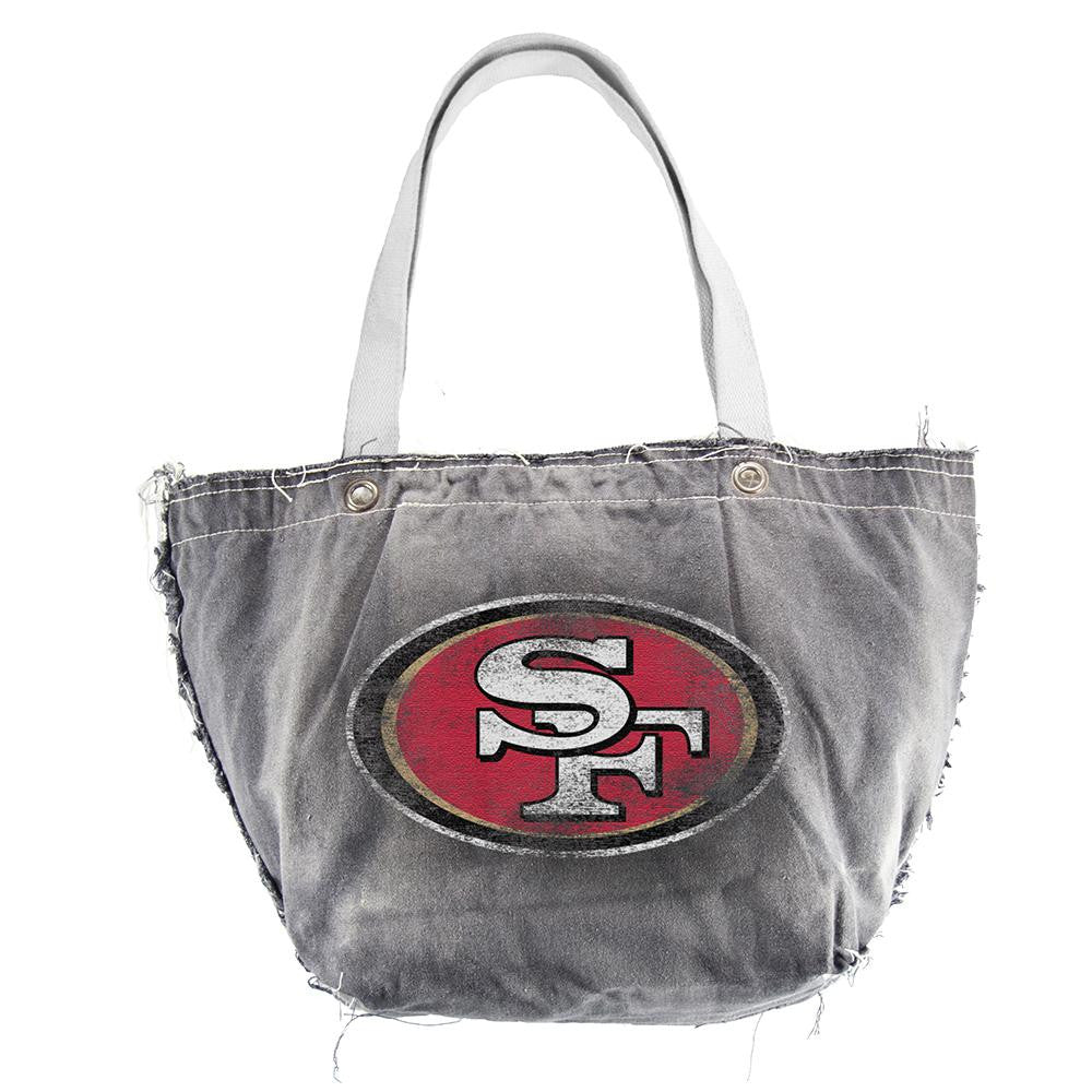 San Francisco 49ers NFL Vintage Denim Tote
