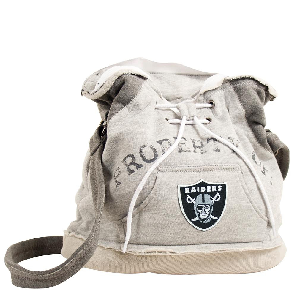 Oakland Raiders NFL Property Of Hoodie Duffel