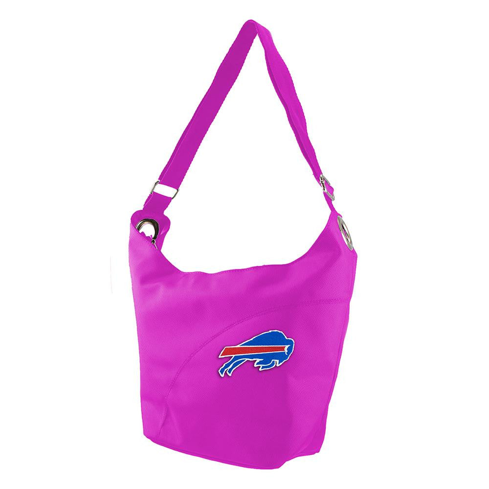 Buffalo Bills NFL Color Sheen Hobo (Pink)