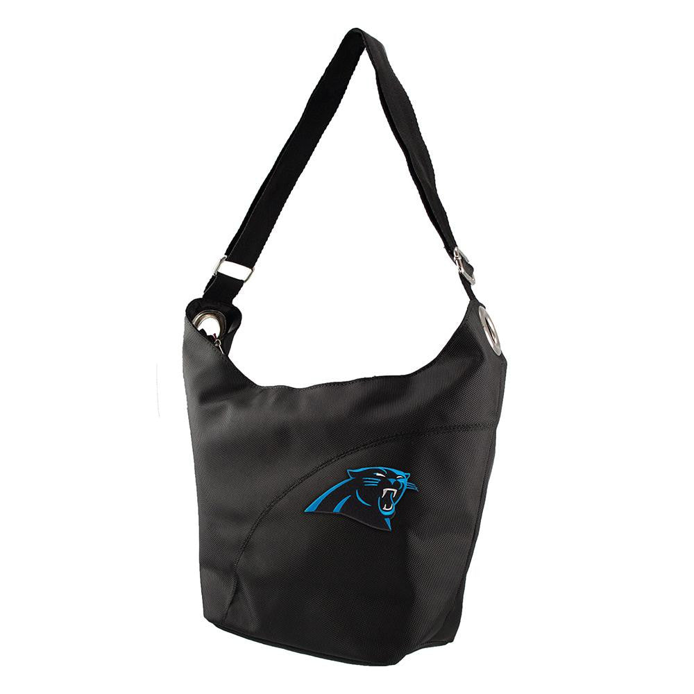Carolina Panthers NFL Color Sheen Hobo (Black)