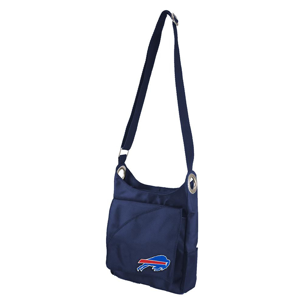 Buffalo Bills NFL Color Sheen Cross-body Bag (Navy)