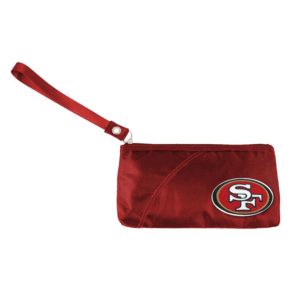 San Francisco 49ers NFL Color Sheen Wristlet